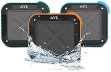 Load image into Gallery viewer, Portable Outdoor and Shower Bluetooth 5.0 Speaker by AYL SoundFit, Water Resistant, Wireless with 10 Hour Rechargeable Battery Life, Powerful Audio Driver, Pairs with All Bluetooth Devices