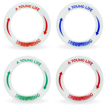 Load image into Gallery viewer, [4 Pack] Best Beach Toys Outdoor Games: Speed Rings for Boys and Girls - Glow in The Dark - Light Flying Disc Floats On Water - for 4, 5, 6, 7, 8, 9, 10 Year Old Birthday Gifts and Up - Made in USA