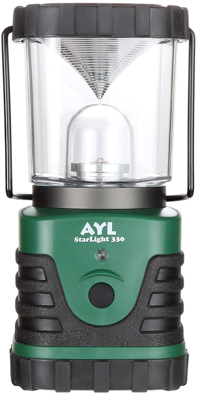 AYL Starlight - Water Resistant - Shock Proof - Battery Powered Ultra Long Lasting Up to 6 Days Straight - 1000 Lumens Ultra Bright LED Lantern - Perfect Camping Lantern for Hiking, Camping