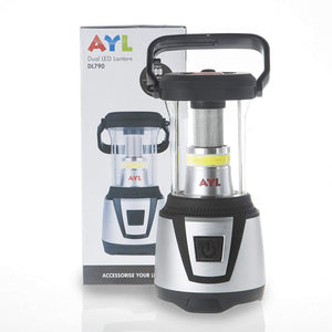 AYL Starlight 2-in-1 Water Resistant Extremely Bright LED Lantern Plus Built-in Flashlight, for Camping, Emergency, Backpacking, Hiking, Outdoor Adventures