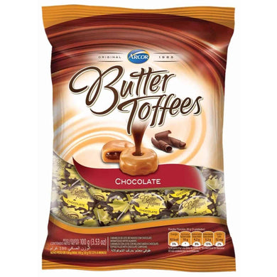 Balas Butter Toffee Chocolate Arcor 100g P0213S
