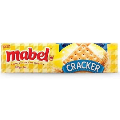 Biscoito Cream Cracker Mabel 200g P0190S