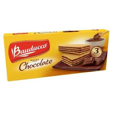 Biscoito Wafer Bauducco Chocolate 165g P0023S
