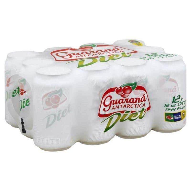 Guarana Antarctica Diet Pack 12 Latas 350ml - Limitado a 1 Pack por compra P0127S