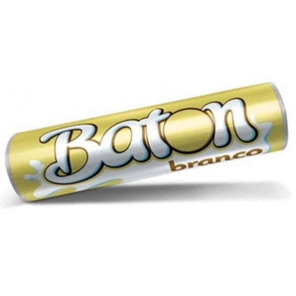 Baton Chocolate Branco 16g - Things of Brazil