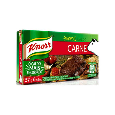 Knorr Caldo Cubinho Carne 57g - Things of Brazil