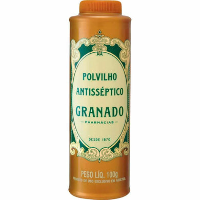 Talco Polvilho Antisséptico Granado 100 g - Things of Brazil