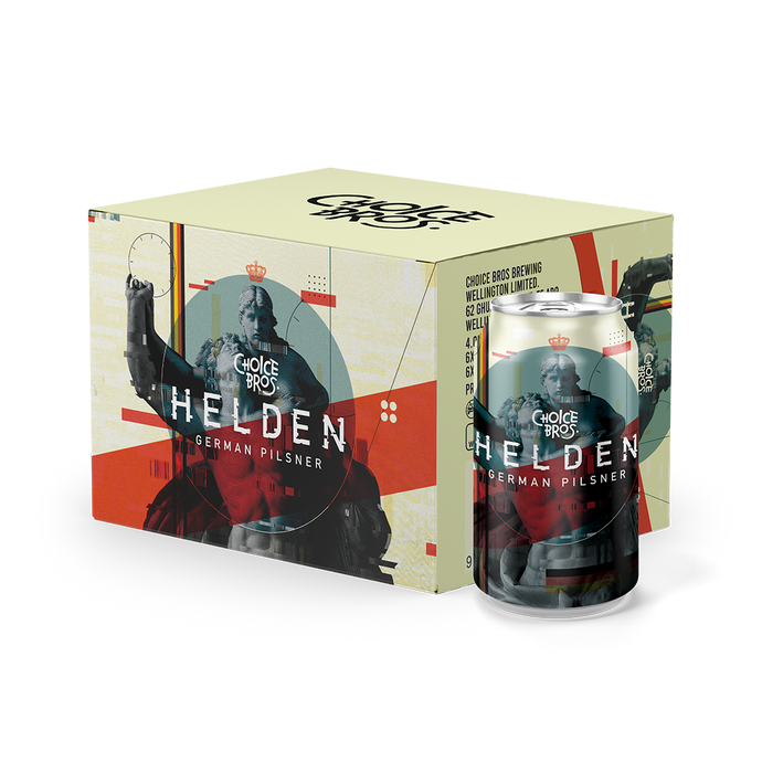Helden | German Pilsner | Six Pack