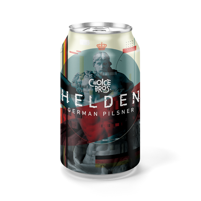 Helden | German Pilsner | 330ml Can