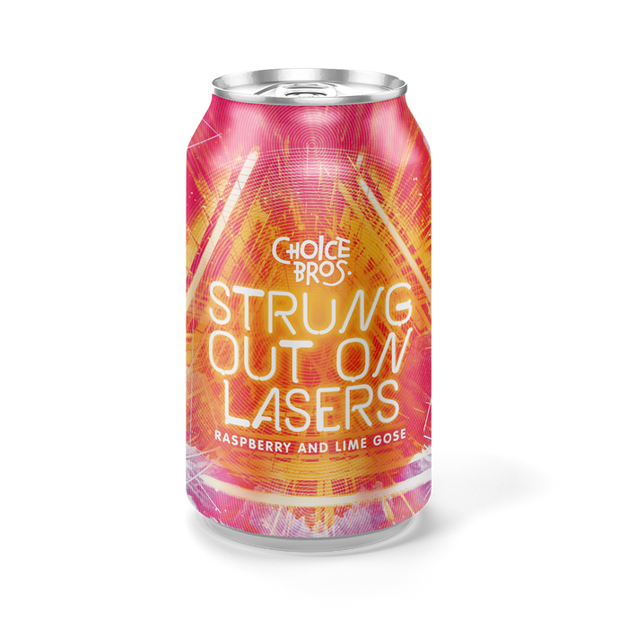 Strung Out On Lasers | Raspberry And Lime Gose | 330ml Can