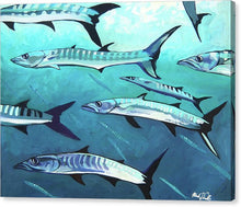Load image into Gallery viewer, Barracuda - Canvas Print