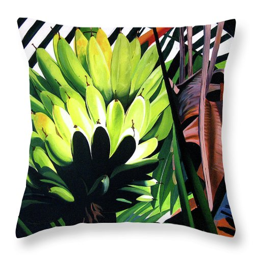 Bananas - Throw Pillow