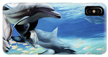 Load image into Gallery viewer, Blue Dolphins - Phone Case