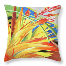 Load image into Gallery viewer, Bromeliad - Throw Pillow