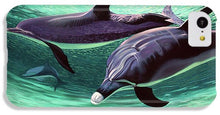 Load image into Gallery viewer, Dolphins And Turtle - Phone Case