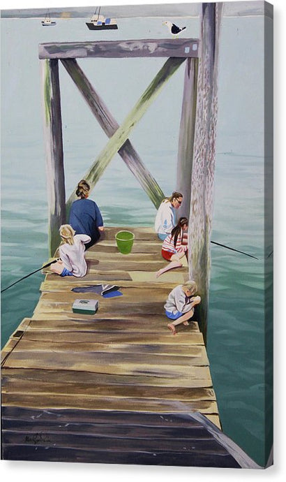 Fisher Family - Canvas Print