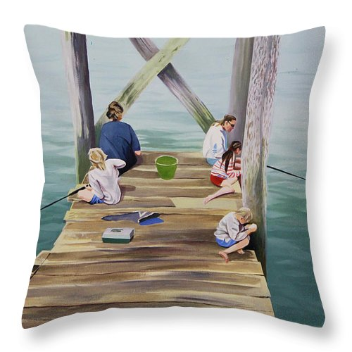 Fisher Family - Throw Pillow