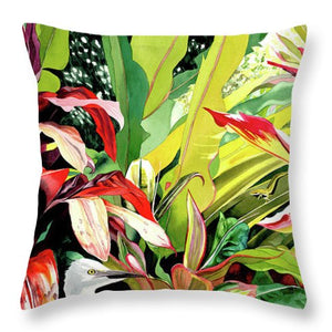Garden Island 2 - Throw Pillow