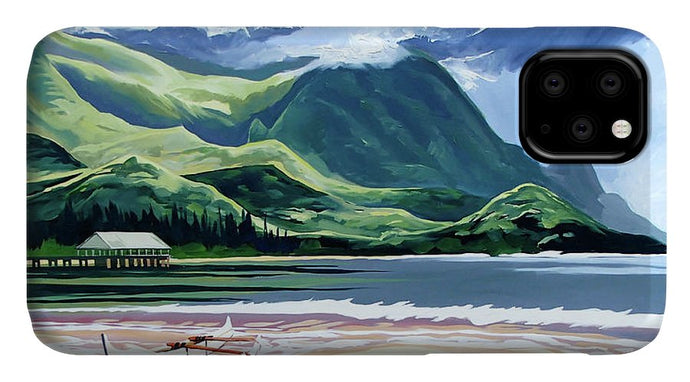 Hanalei Canoe And Pier - Phone Case