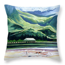 Load image into Gallery viewer, Hanalei Canoe And Pier - Throw Pillow