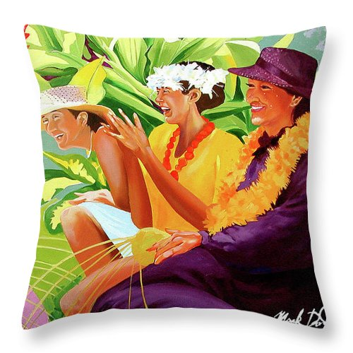 Happy Talk - Throw Pillow
