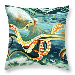 He'e - Throw Pillow