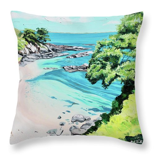 Hidden Cove - Throw Pillow