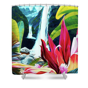 Hidden Falls - Shower Curtain