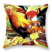 Load image into Gallery viewer, Ke'e Rooster - Throw Pillow