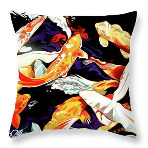 Koi - Throw Pillow