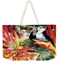 Load image into Gallery viewer, Limahuli - Weekender Tote Bag