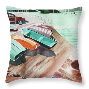 Mangonui Ramp - Throw Pillow