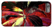 Load image into Gallery viewer, Maroon Palm - Phone Case