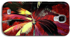 Maroon Palm - Phone Case