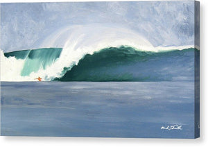 Middles - Canvas Print
