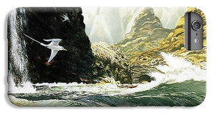 Na Pali Waterfall - Phone Case