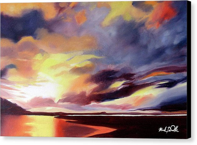 Northern Sunset - Canvas Print