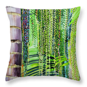 Palm Seeds - Throw Pillow