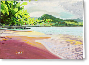 Quiet Hanalei - Greeting Card