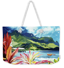 Load image into Gallery viewer, Red Canoe - Weekender Tote Bag