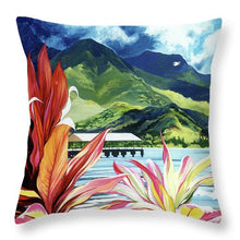 Load image into Gallery viewer, Red Canoe - Throw Pillow