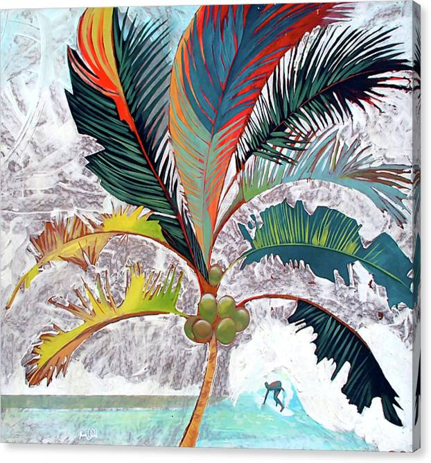 Summer Palm - Canvas Print