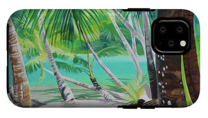 Thinking of Tahiti - Phone Case