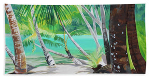 Thinking of Tahiti - Beach Towel
