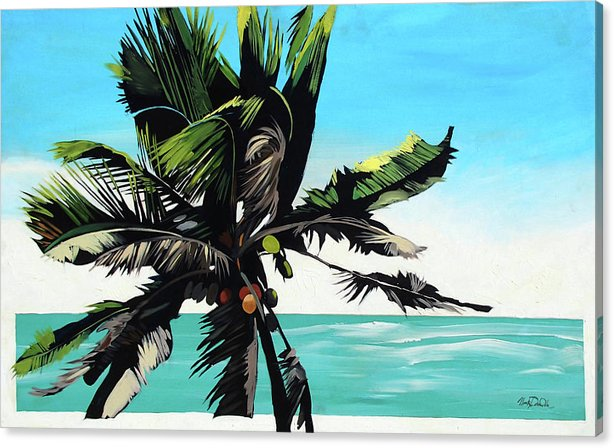 Waikoko Palm - Canvas Print