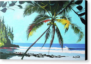 Waikokos Surf - Canvas Print