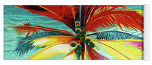 Load image into Gallery viewer, Wild Red Palm - Yoga Mat