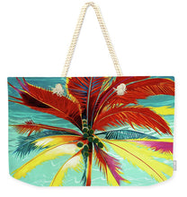 Load image into Gallery viewer, Wild Red Palm - Weekender Tote Bag