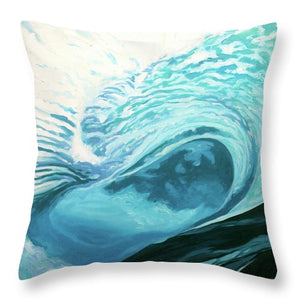 Wild Wave - Throw Pillow