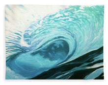 Load image into Gallery viewer, Wild Wave - Blanket